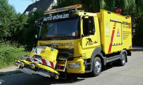 Ein Ölspur-Master K3 für die Firma Auto Böhler